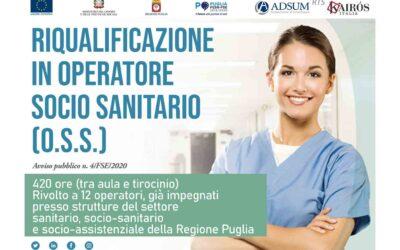Qualifica professionale di Operatore Socio Sanitario (O.S.S.)